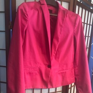 Worthington , pink waist length Jacket,size 10